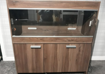 Large Viv Exotic vivarium (used condition – wear and tear) collection only (Dunfermline, Fife)